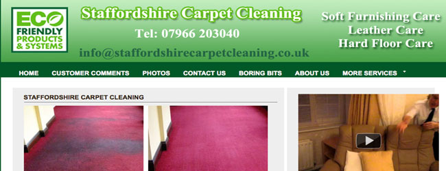carpet cleaning staffordshire