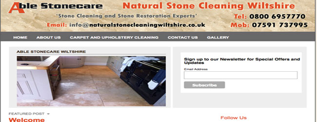 stone floor cleaning wiltshire