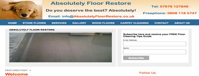 stone floor cleaning darlington