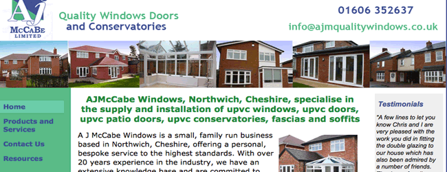 upvc windows northwich
