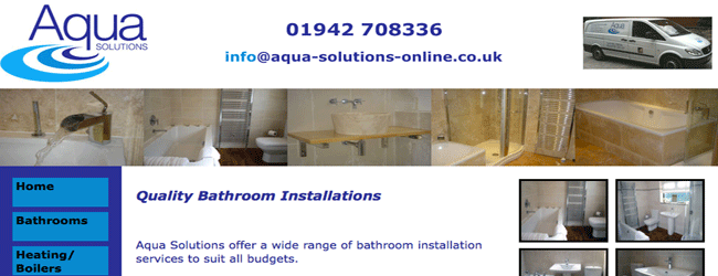 aqua solutions plumbers warrington cheshire