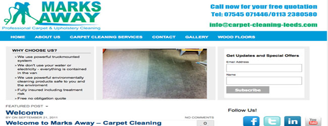 carpet and upholstery cleaning leeds