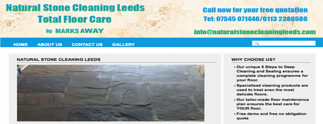 natural stone cleaning leeds