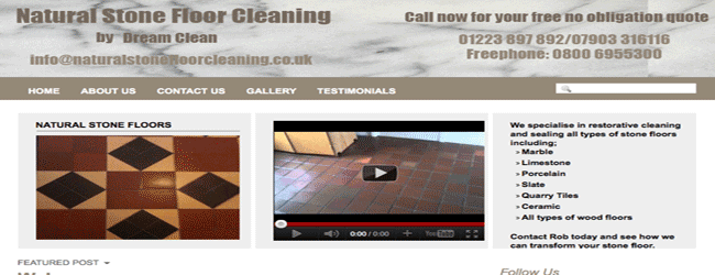 natural stone floor cleaning cambridge essex