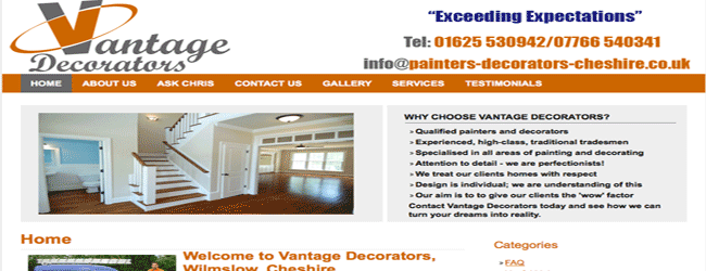 vantage decorators cheshire